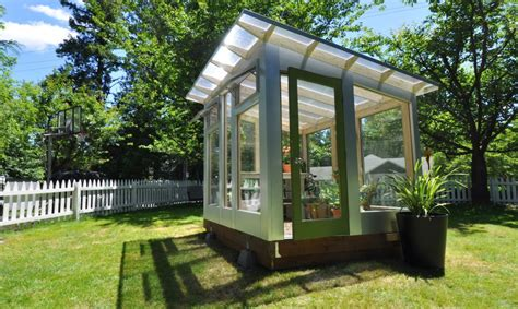 Backyard Greenhouses For Sale by Studio Sprout S Backyard Greenhouse Combines Beautiful