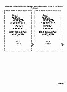 Ford 455d  555d  575d  655d  675d Backhoe Loader Service
