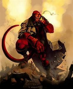 HELLBOY collab by wredwrat on DeviantArt