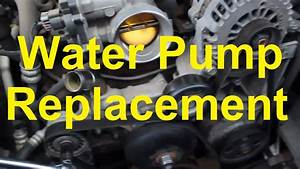 How To Replace The Water Pump On A Chevy  Gm Vortec V8 4 8
