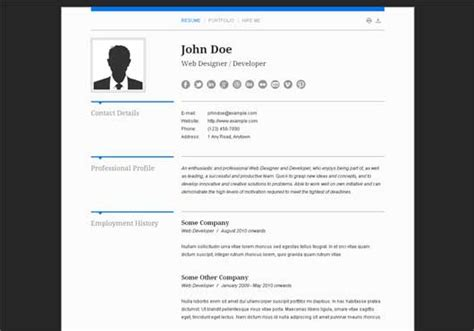 How To Write Attractive Curriculum Vitae by Beautiful Themes For Cv Or Resume Design