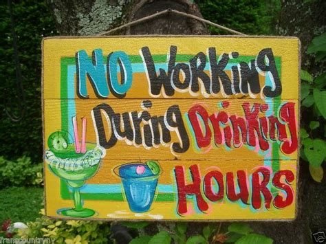 Tiki Hut Hours - no working during hours tropical paradise