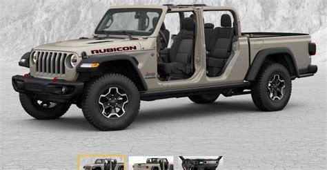 jeep gladiator build price configurator    jeep gladiator jt news  forum