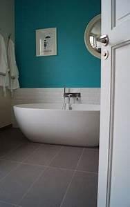 1000 images about salle de bain mme t on pinterest With carrelage salle de bain turquoise