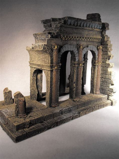 ancient ruins fish tank decorations aquarium ornament ancient temple ruins fish tank large aquarium decoration aquarium