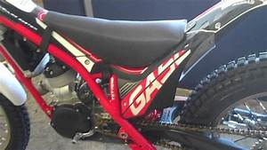 Street-legal 2013 Gas Gas Competition Trials Bike