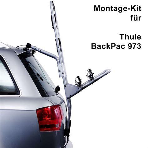 thule backpac kit nr   fuer heckklappenfahrradtraeger