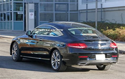 Mercedes C Klasse Coupe by 2018 Mercedes C Class Coupe Next In Line For A Visit To