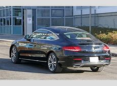 2018 Mercedes CClass Coupe Next In Line For A Visit To