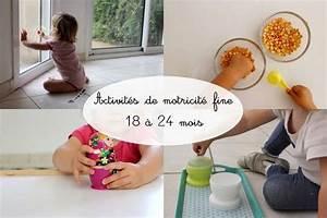 Activites Enfant 2 Ans : activit s pour les 18 24 mois inspiration montessori motricit fine ~ Melissatoandfro.com Idées de Décoration