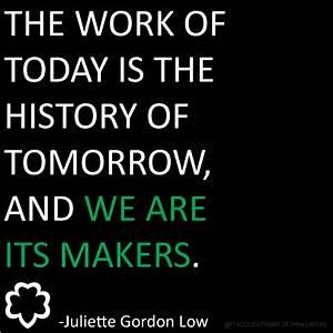 Juliette Gordon... Skout Quotes
