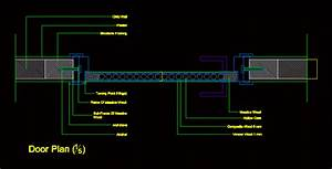 Door Plan Details In Autocad