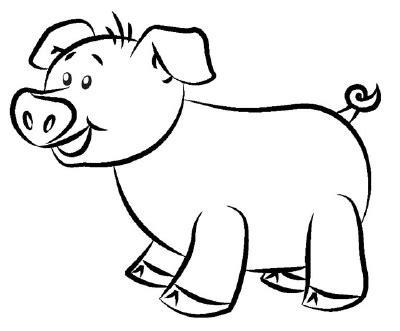 draw  pig   draw  cartoon pig