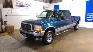 2000 Ford F 350 Xlt Long Bed Super Duty Crew Cab 7 3l