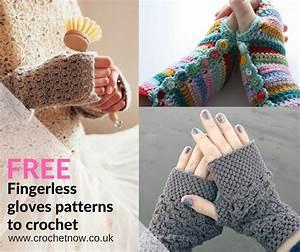 Free Fingerless Crochet Gloves Patterns
