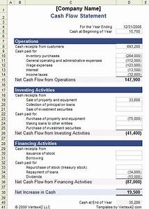 download the cash flow statement template from vertex42 With global cash flow analysis template