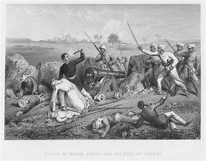 India: Sepoy Rebellion, 1857 Photograph by Granger