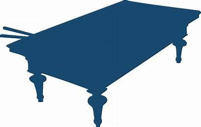 Snooker Clipart Table Clip Pool Transparent Billiard