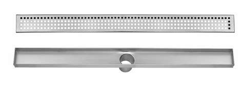 reviews aqva stainless steel linear shower drain  grate