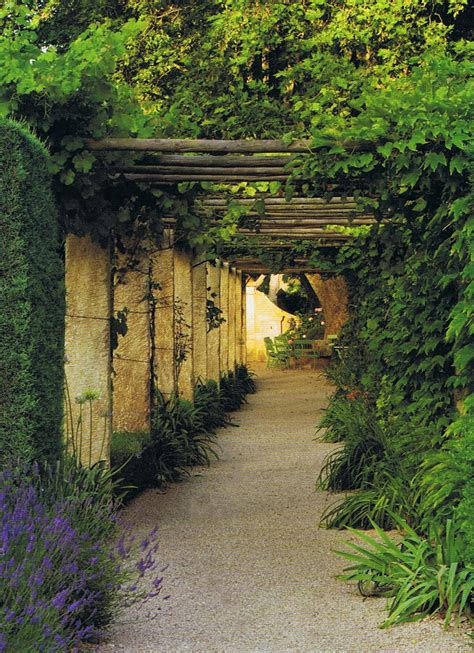 provence gardens terrace view in provence trouvais