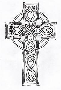 The gallery for --> Simple Celtic Cross Outline