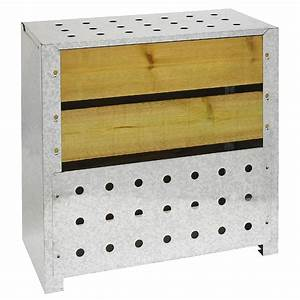 Bois Compressé Leroy Merlin : composteur monobloc guillouard bois marron 200 l leroy ~ Melissatoandfro.com Idées de Décoration