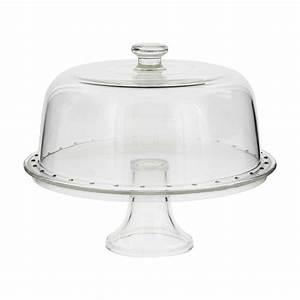 Cloche à Gateau : plat gateau sur pied avec cloche 31 cm borgonovo alice d lice ~ Teatrodelosmanantiales.com Idées de Décoration