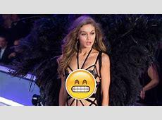 Gigi Hadid Suffers Wardrobe MALFUNCTION On Runway At 2016