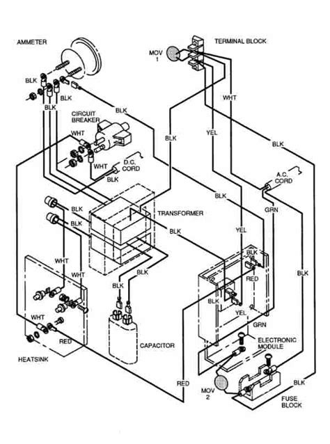 Ez Go Textron Charger Wiring Diagram ez go charger wiring diagram fuse box and wiring diagram