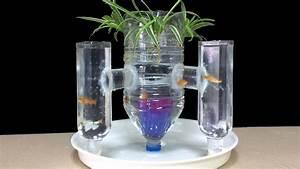 Diy Aquarium Fish Tower Of Plastic Bottle Art