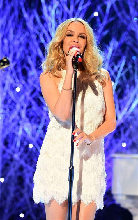 Kylie Minogue - Graham Norton Show at The London Studios ...