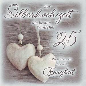 Glückwunschkarten Zur Goldenen Hochzeit : gl ckwunschkarte zur silberhochzeit ebay ~ Frokenaadalensverden.com Haus und Dekorationen