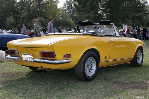 1970 Fiat 124 Spider by Archivo 1970 Fiat 124 Spider Sport Yellow Rvr 1