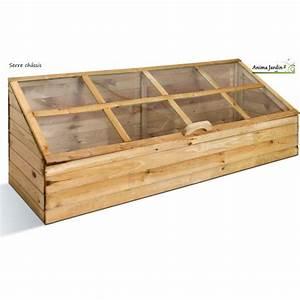 Mini Potager En Bois : serre de jardin en bois ch ssis pour semer quadruple ~ Premium-room.com Idées de Décoration