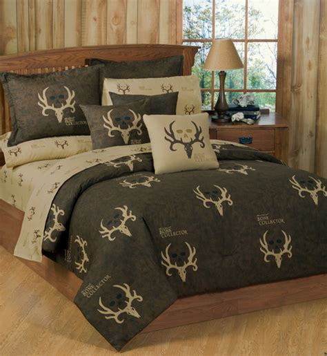 bone collector lodge style comforter and bedding