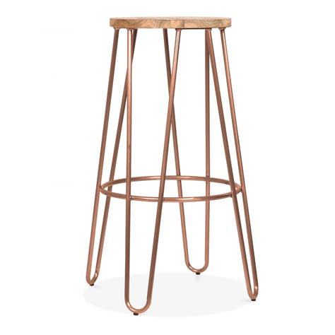 contemporary bedroom ceiling lights cult living 76cm vintage copper hairpin stool with