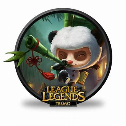 Teemo Panda Legends League Icon Icons Fazie69
