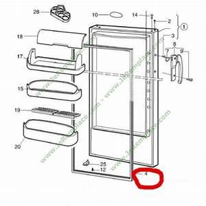 Joint Porte Refrigerateur : joint de porte refrigerateur 959002601 r frigerateur ~ Premium-room.com Idées de Décoration