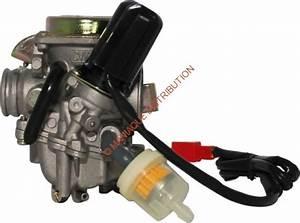 Carburetor  U2013 18mm  Electric Choke  50cc To 90cc  Gy6