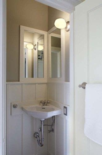 Corner Bathroom Sink Ideas by Corner Sink Mirror Idea Bathroom Corner Sink Bathroom