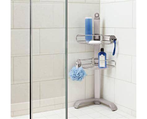 Bathroom Rack Over Toilet by Simplehuman Corner Shower Caddy Stainless Steel