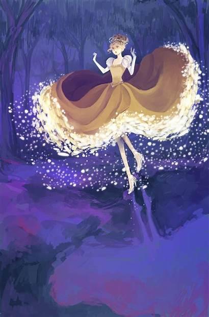 Cinderella Disney Deviantart Character Glass Fanart Anime