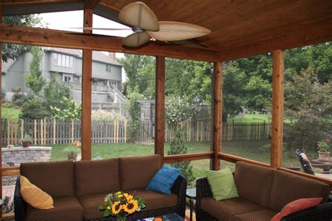 Sunrooms And Porches by Leawood Ks Porches Sunrooms And Decks