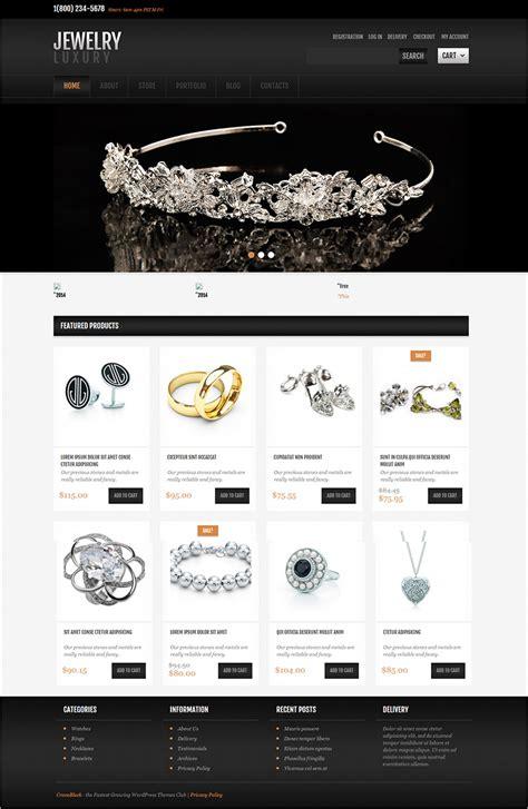 Theme Free Jewelry Themes Free Premium Templates