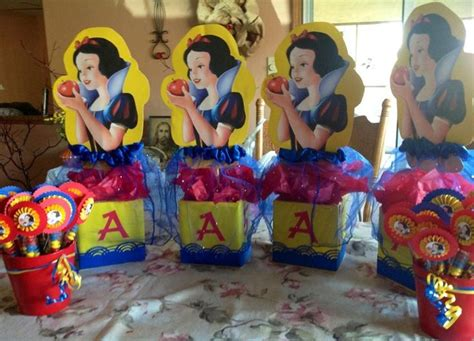 snow white centerpieces snow white centerpieces sammi s 5th birthday party pinterest