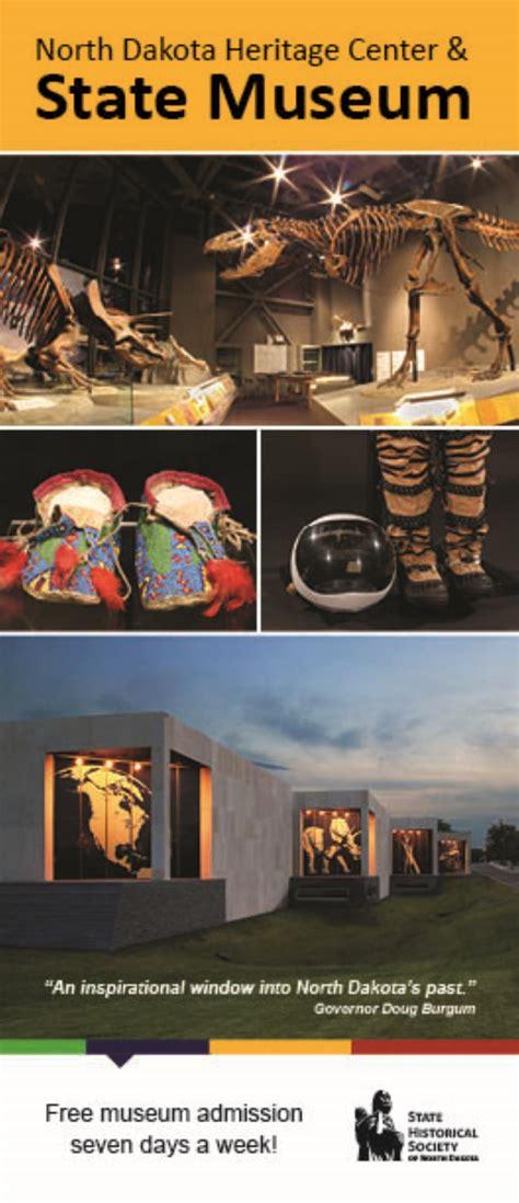 visitor brochures dakota heritage center state museum