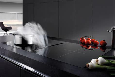 destockage cuisine hotte de plan de travail airone mercure 520 verre noir