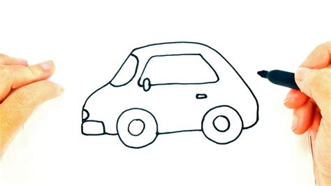Cómo dibujar un Coche o Carro Fácil Dibujo fácil de