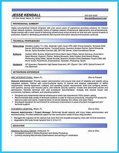 Hardware and networking professional resume