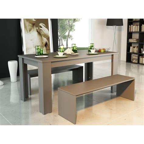 table cuisine avec banc table a manger avec banc